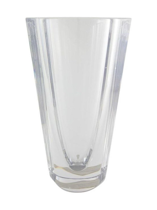 Orrefors Lead Crystal Vase - $200 Est. Retail - $60 on Chairish.com -