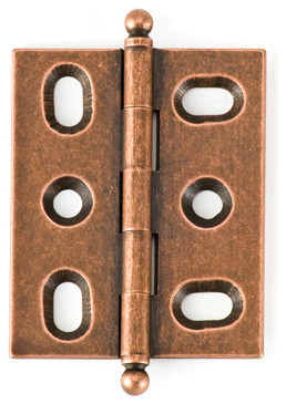 BH2A-OC-BALL solid brass inset cabinet hinge traditional-home-improvement