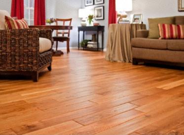 Virginia Mill Works Coventry Oak Light Handscraped - Hardwood Flooring ...