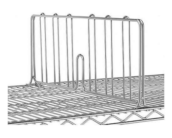 Chrome Shelf Dividers -