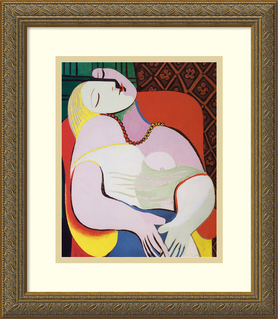 The Dream, 1932 Framed Print by Pablo Picasso traditional-prints-and-posters