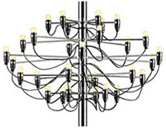 2097 Chandelier contemporary-chandeliers
