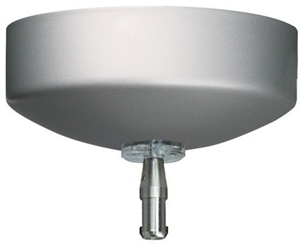 One Circuit Monorail Surface Transformer - 60W, 12V Electronic, Single Feed modern-track-lighting