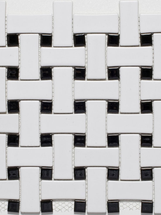 Basketweave Mosaic Tiles - store.missionstonetile.com has low pricing, and Free Shipping on Basketweave Mosaic Tiles for your bathroom floor, shower floor, shower wall accent tile, kitchen backsplash, and more.