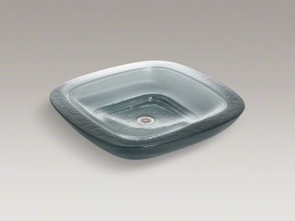 KOHLER Toric(R) Vessel above-counter glass bathroom sink contemporary ...