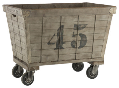 Lavandrie Cart - Aidan Gray eclectic storage boxes