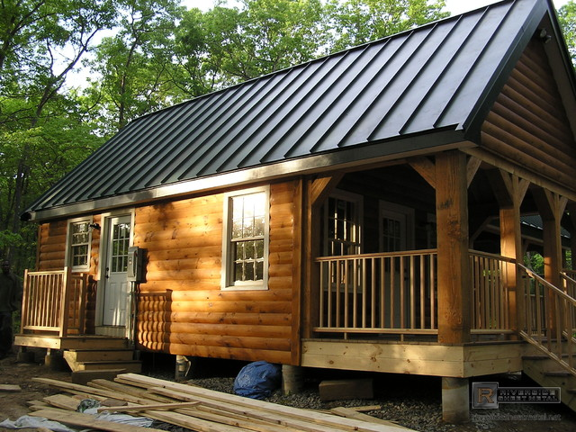 Charcoal Gray Metal Roofing Rustic Boston By Riverside Sheet amp Contracting Inc