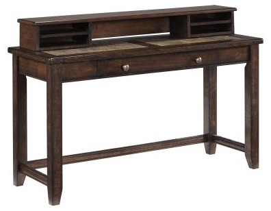 Magnussen Allister Wood Sofa Table Desk modern-bar-tables