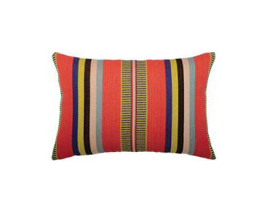 Outdoor Decor - Elaine Smith Pillows - Elaine Smith Pillows are fade, moisture and stain resistant luxury outdoor throw pillows. Elaine Smith Pillows, available in a variety of styles, sizes and shapes, only uses solution-dyed acrylic yarns from brands like Sunbrella to ensure long lasting durability. These stylish outdoor throw pillows can withstand nature and human nature, resisting sun, rain, and stains. http://www.authenteak.com/elaine-smith-pillows.html