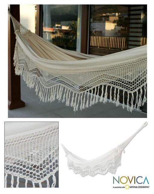 Cotton 'Manaus Majesty' Hammock tropical-hammocks