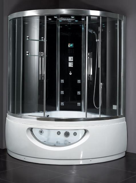Ariel Platinum Da333f8 Steam Shower Unit With Whirlpool
