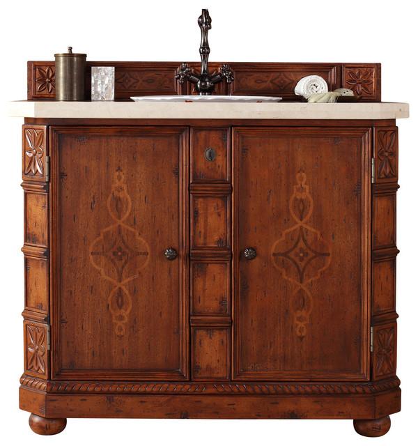 42 single vanity cabinet transitional bathroom vanities and sink