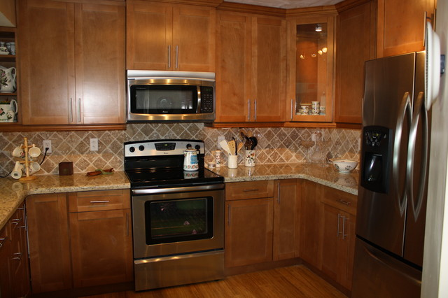 Branz's Kitchen Cabinets - Traditional - Kitchen Countertops - by Best Kitchen Cabinet Refacing ...