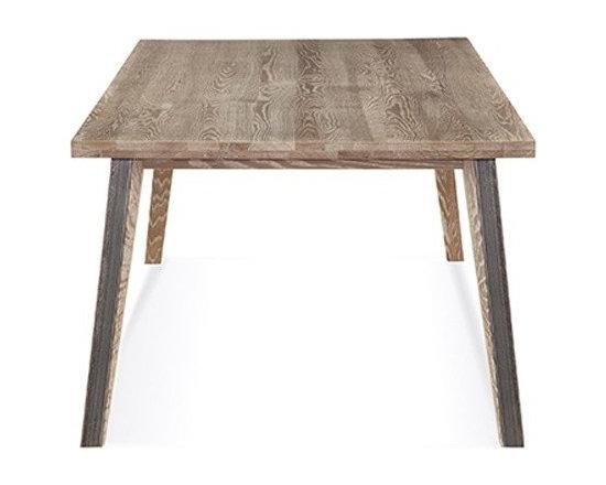 Saloom Furniture - Saloom Furniture | Dartmouth Rectangular Oak Dining Table - Design by Peter Francis.
