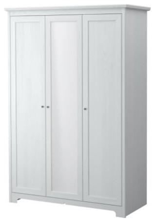 ASPELUND Wardrobe with 3 doors - Scandinavian - Armoires ...