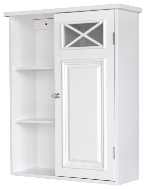 Dawson Wall Cabinet With One Door & Shelves transitional-medicine-cabinets