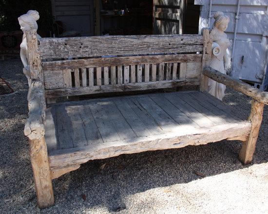Reclaimed Teak Bench from Bali -
