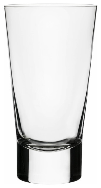 Aarne Highball, Set of 2, 13 Oz. Clear contemporary-everyday-glasses