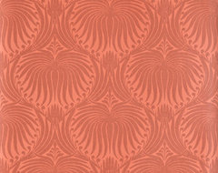 Farrow & Ball - The Lotus Papers eclectic-wallpaper