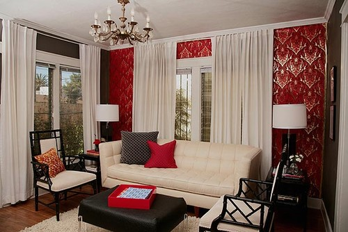 5 red white and black some may say its a classic but this combo can be a bit jarring in a space - Color In Home Design