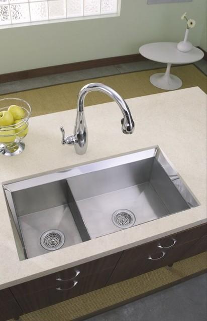 kohler basin kitchen sink traditional kitchen
