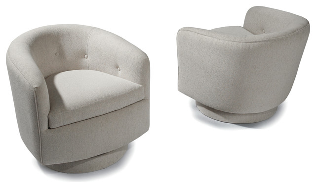 Roxy Swivel and Tilt Tub Chairs by Milo Baughman from Thayer Coggin midcentury-armchairs-and-accent-chairs