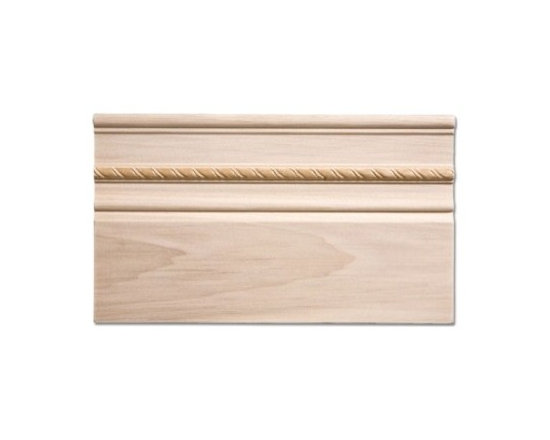 Poplar Baseboard Trim - 3/4 x 7 - Add this poplar baseboard trim to your room for a new look.