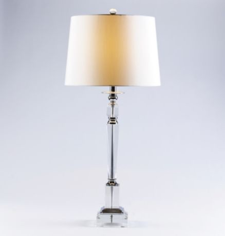 Crystal Table Lamp traditional-table-lamps