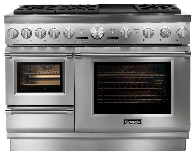 Double Oven Gas Range 30 Inch Alf img - Showing > Thermador Electric Ovens