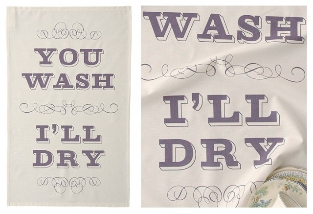 eclectic dishtowels by Keep Calm Gallery