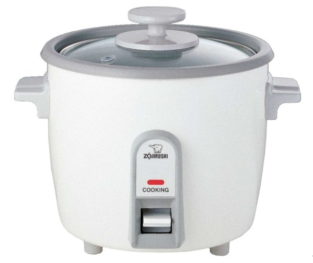 Zojirushi NHS-06 Rice Cooker and Steamer, 3 cup contemporary-specialty-kitchen-electrics
