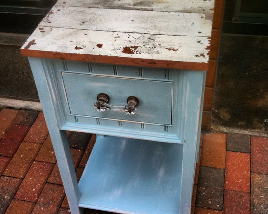 Reclaimed Wood Nightstand (1) -