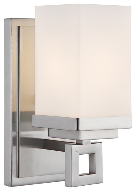 Golden Lighting 4444-BA1 PW 1-Light Wall Sconce transitional-wall-lighting