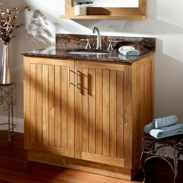 Durable, Chic Teak - Contemporary - Bathroom Vanities And Sink Consoles - cincinnati - by ...
