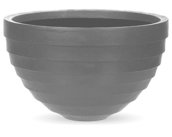 AuthenTEAK Lightweight Fiberglass Planters - AuthenTEAK Outdoor Furniture is a leading retailer of high quality and high design products for both residential and commercial outdoor living spaces. We also offer private label products that exceed our quality standards. AuthenTEAK's all-weather planters are recognized by the high-quality of workmanship and their natural look. Our planters are made by hand and are subjected to various levels of finishing, making each piece unique. These lightweight planters, made of fiberglass, combine a high-quality natural looking finish with lightweight construction, creating a product that is stylish and durable, while keeping weight to a minimum. Each planter comes with a 3-year guarantee.