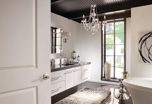 Contemporary Bathroom By Carmel Doors Schlage Locks