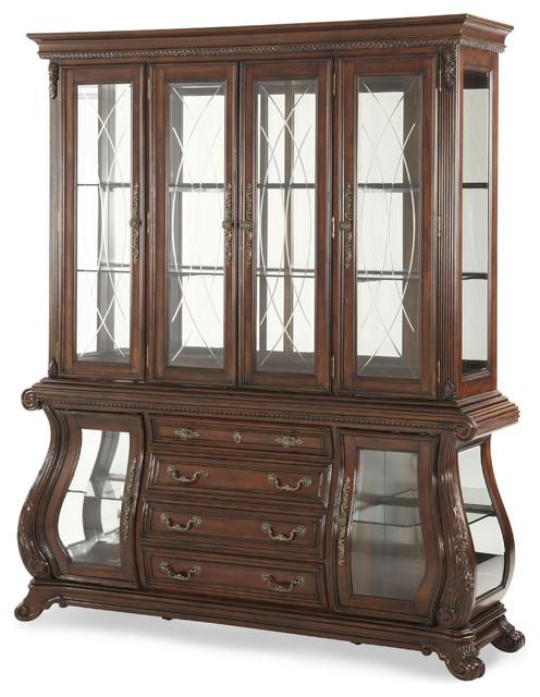 Palace Gates China Cabinet - Traditional - Storage Cabinets - by Carolina Rustica