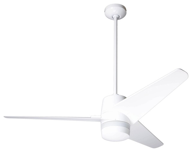 50 modern fan velo gloss white ceiling fan contemporary Modern white ceiling fan
