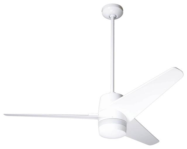 50 modern fan velo gloss white ceiling fan contemporary Modern white ceiling fan