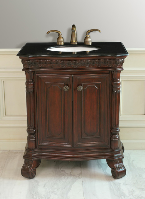 Antique style bathroom vanities traditional bathroom for Looking for bathroom vanities