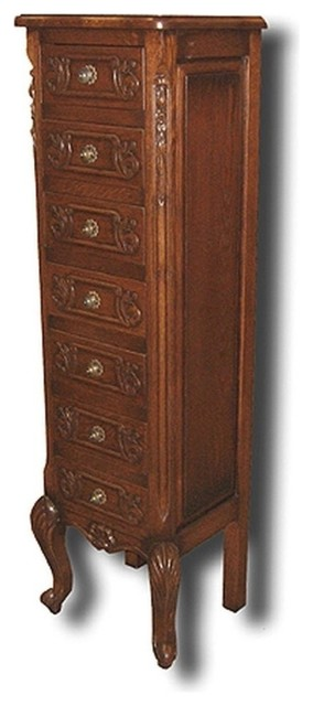New Chest of Drawers Oak French Oak 7-Drawer traditional-dressers-chests-and-bedroom-armoires