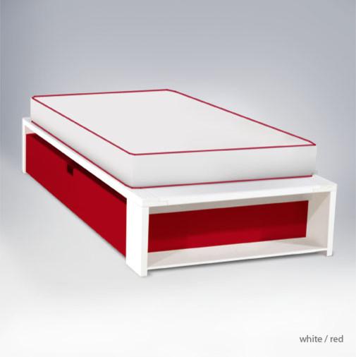 ducduc alex platform bed baby-bedding