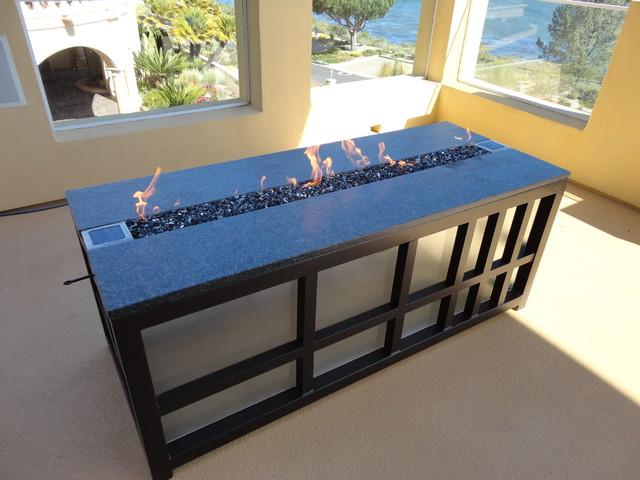 Leasure Concepts contemporary-fire-pits
