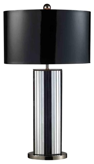 Dimond Lighting D1893 Shreve Black Table Lamp contemporary-table-lamps