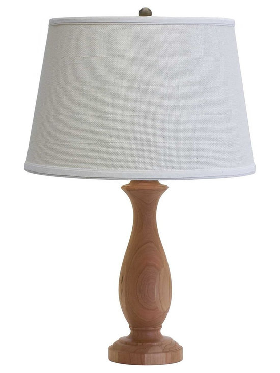"""House of Troy Vermont Cherry 23"""" Turned Table Lamp - House of Troy (Made in the USA) Vermont Cherry 23"""" Turned Table Lamp. Features: On socket On / Off Switch. For more than 40 years, House of Troy has handcrafted Desk Lamps, Piano Lamps and Picture Lights in the great state of Vermont. House of Troy's reputation for craftsmanship, quality materials, and customer service make these items a value unsurpassed in the lighting industry."""