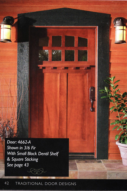 42 Inch Craftsman Style Front Entry Door Jpg