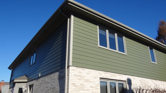 Fiber Cement Siding Lemont Traditional Exterior Chicago By Smardbuild