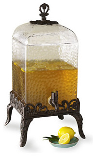 Vintage-Style Beverage Dispenser traditional food containers and storage