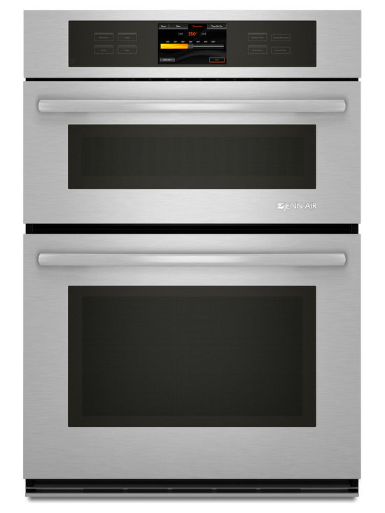 """Jenn-Air 30"""" Combination Oven, Stainless/blk 