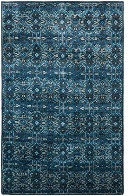 Ralph Lauren Rlr7732a Sheldon Rug Cobalt Blue Eclectic